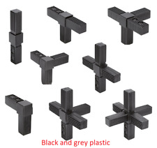 Square tube connectors for square tube connection joints size 20 25 30