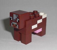 LEGO Minecraft - Kuh / Cow - Figur Minifig Ideas Rind Farm Haus Mine Craft 21114