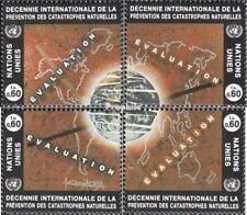 VN - Genève 250-253 postfris 1994 Natuurrampen-Conferentie
