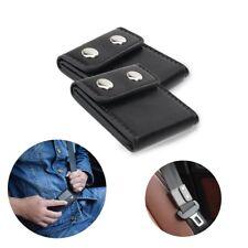 2x Car Seat Belt Adjuster Shoulder Neck Strap Positioner Locking Clip Protector