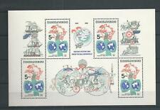 1984 MNH Tschechoslowakei Mi block 58