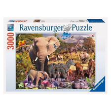 Ravensburger Classic African Animal World 3000 Pieces Jigsaw Puzzle (RB17037-1)