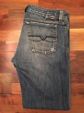 Diesel Long High Rise Classic Fit, Straight Jeans for Men