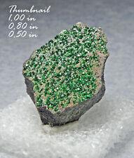 Uvarovite Green Garnet Urals Russia Minerals Crystals Gem-Thn