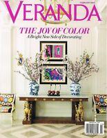 Veranda magazine January / February 2012