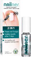 Nailner Brush Against Fungal Nail Infection - Contains 1 Nail Fungus Brush - 5ml