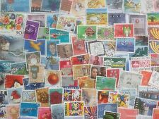 500 Different Switzerland Stamp Collection - Large only