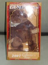 **LOOK** Superb MINT Cond VERY RARE Boxed GUND Collector's Teddy Bear GUNDY 2007