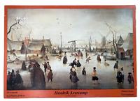RARE - Hendrik avercamp Winter Scene Puzzle 1000 pieces