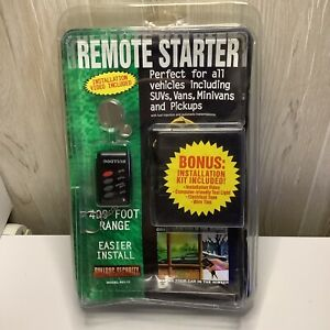 BULLDOG SECURITY Remote Starter, Keyless Entry & Remote RS102