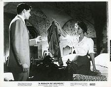 SOPHIA LOREN JOHN GAVIN A BREATH OF SCANDAL 1960 VINTAGE PHOTO ORIGINAL #1
