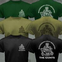RLI Commando Rhodesian Light Infantry Bush War Army Military Motto T-shirt