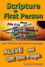 Scripture in First Person, Alive and Off the Page by Forrest, Lorie -Paperback