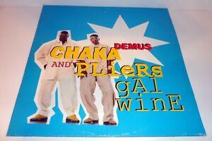 "CHAKA DEMUS & PLIERS - GAL WINE 12"" VINYL 1994 6 MIXES M-BEAT"