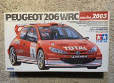 Peugeot 206 WRC Tamiya 1/24 Scale Version 2003 Model Kit NEW All Parts Included