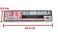 Aluminum Sticker Plate Emblem Decal Yoshimura japan For Honda Suzuki
