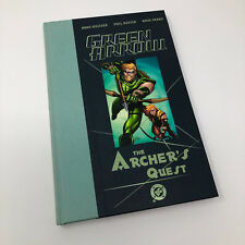 Dc Green Arrow Archers Quest Hardcover Signed
