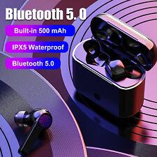 Mini Wireless Bluetooth Earbuds With Mic True Bass Twins Stereo In-Ear Earphone