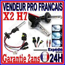 DEUX AMPOULES H7 AU XENON POUR KIT HID LAMPE FEU 6000K 8000K 10000K EN 35W 55W
