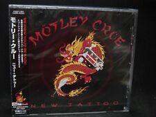 MOTLEY CRUE New Tattoo + 2 JAPAN CD Sixx:AM Brides Of Destruction Ozzy Osbourne