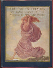 A Golden Treasury of Songs and Lyrics 1911 1st Ed. HC Book