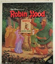 Walt Disney's: Robin Hood - RCA/CED Videodiscs, Vintage, Children & Family, Good