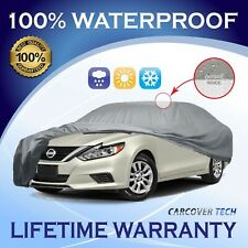 100% Waterproof/All Weatherproof Full Car Cover For Nissan Altima [2000-2020]