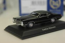 Bos Cadillac Eldorado, negro - 87185 - 1:87
