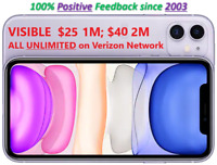 Visible (Verizon Network) BYOD SIM w/ Unlimited Call/Text/Data 30/60 Day Service
