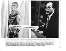 SHAWN MICHAELS JOSE LOTHARIO  WWF WRESTLING ORIGINAL VINTAGE glossy b&w photo