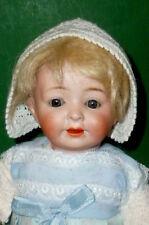 Alte Porzellankopfpuppe 199 Gebrüder Knoch ? Baby Puppe Puppen Doll poupee Junge