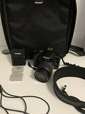 Canon EOS Rebel XS Digital SLR Camera lot- Black