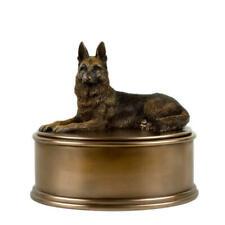 Memorials German Shepherd Figurine Cremation Urn