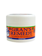 Gran's Remedy Foot Powder (Scented) 50g FREE SHIPPING WORLDWIDE