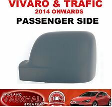 PASSENGER SIDE VAUXHALL VIVARO VAN RENAULT TRAFIC PRIMED WING MIRROR COVER CASE