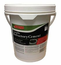 Rutland Castable Refractory Cement, 25-Pound
