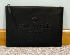 Kate Spade Gia LARGE Ash Street Leather Pouch  WLRU 5024