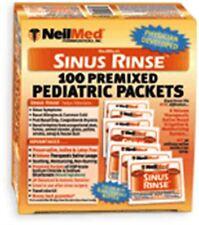 NeilMed Sinus Rinse Pediatric Packets 100 Each