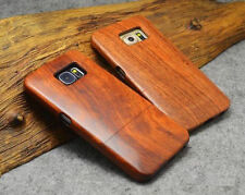 100% Natural Wooden Bamboo Phone Case For Samsung GALAXY S8/edge S7 Note 5 Cover