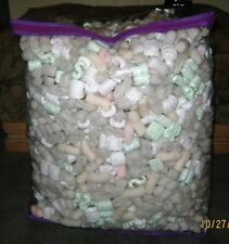 10 Gallons of Packing Peanuts in a new Zippered Storage Bag