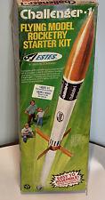Vintage Estes Challenger -1 Flying Model Rocket Starter Kit