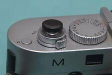 Botón de liberación suave de Madera de Ébano para Fujifilm y Leica (gran concav)