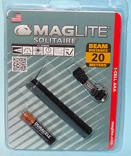 SOLITAIRE AAA MAGLITE KEY CHAIN KEY RING FLASHLIGHT TORCH MAG LIGHT 1 AAA NEW