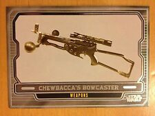 Star Wars 2012 Galactic Files 2 #631 Chewbacca's Bowcaster Mint