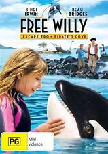 Free Willy 4: Escape from Pirate's Cove * NEW DVD * Bindi Irwin Beau Bridges