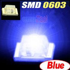 20PCS x Super bright SMD SMT 0603 LED SMD/SMT x-box light Blue (125 deg )
