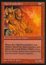 Ogerbrandstifter / Ogre Arsonist | EX | Portal Second Age | GER | Magic MTG