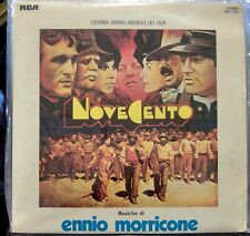 "Original Motion Picture Soundtrack ""Novecento""; Music by Ennio Morricone    RCA"