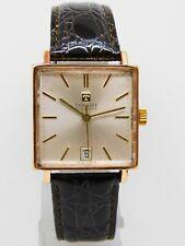 """Montre Bracelet carrée """"TISSOT VISODATE"""" vintage avec date    FONCTIONNE"""