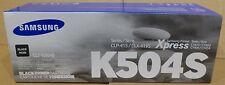 SAMSUNG printer inkt zwart CLT - K504S Nieuw